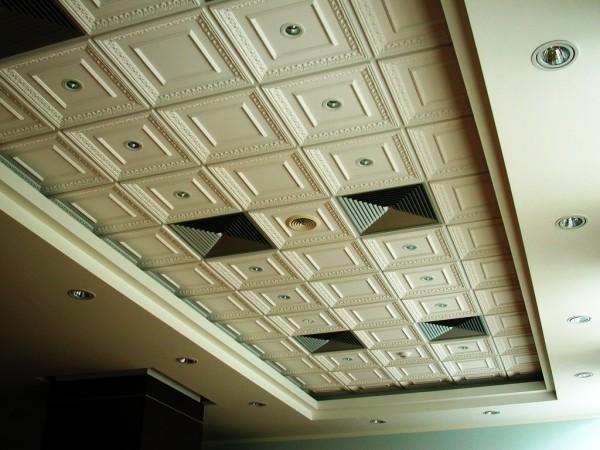 Гипсовый подвесной потолок