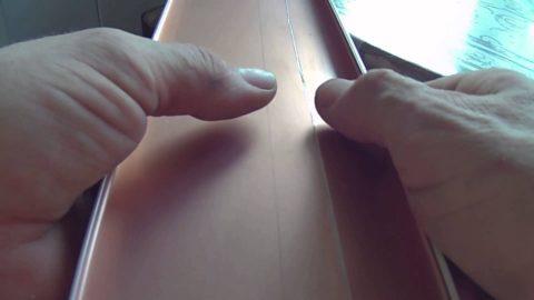 Подгонка последней панели по ширине