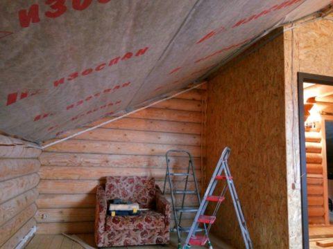 Подготовка к монтажу натяжного потолка в новом доме