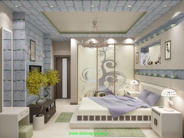 Подшивной потолок для невысокого помещения