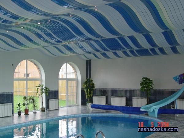 Оригинальный потолок закрытого типа