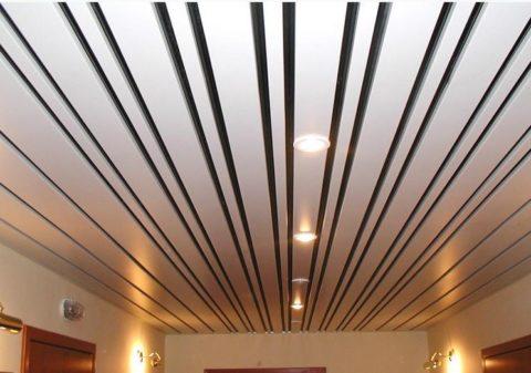 Подвесной потолок из Италии