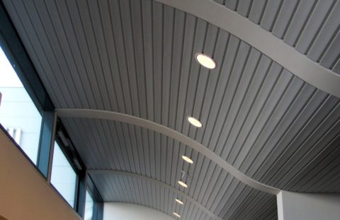 Подвесные конструкции преображают помещение