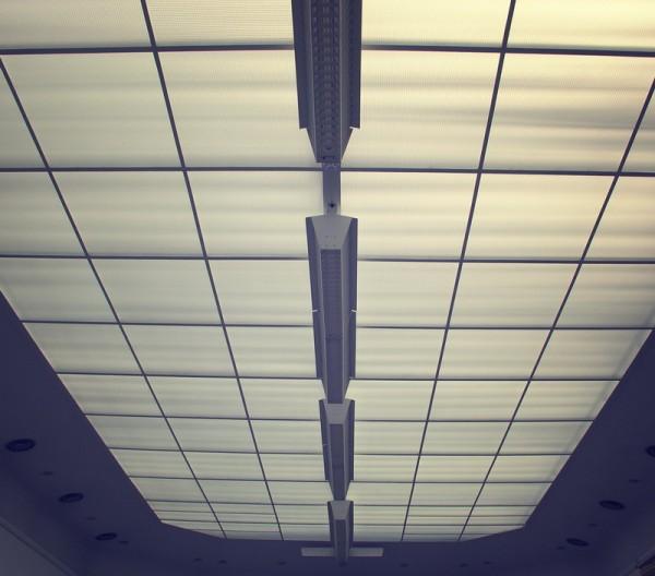 Стекловолоконные панели с подсветкой