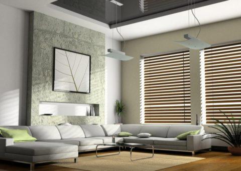 Подвесные приборы для освещения комнаты