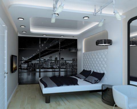 Подвесные, встроенные и трековые светильники в системе освещения помещения