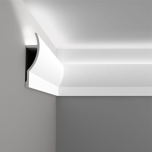 Полиуретановый карниз для устройства подсветки