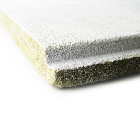 Пористая структура потолочной плитки - именно это качество позволяет потолку пропускать воздух под поверхность