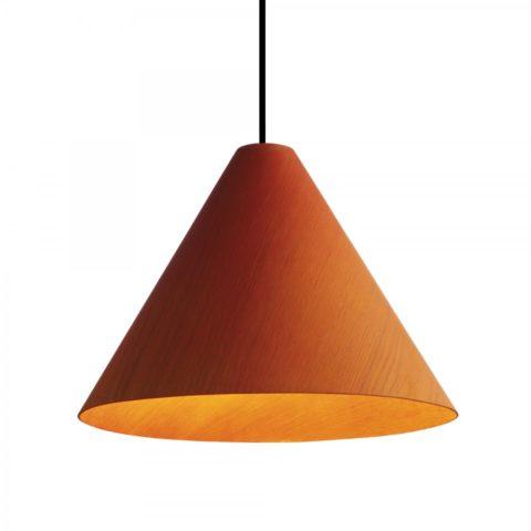 Потолочный светильник оранжевый