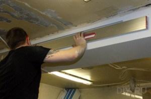 потолок пластиковый реечный