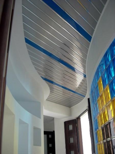 Потолок реечный geipel