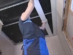 потолок реечный пластиковый