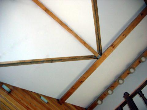 Потолок сложной формы