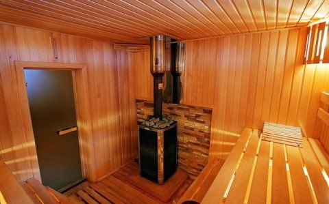Потолок в бане в 2,5 метра