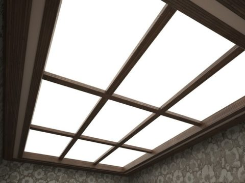 Потолок в японском стиле
