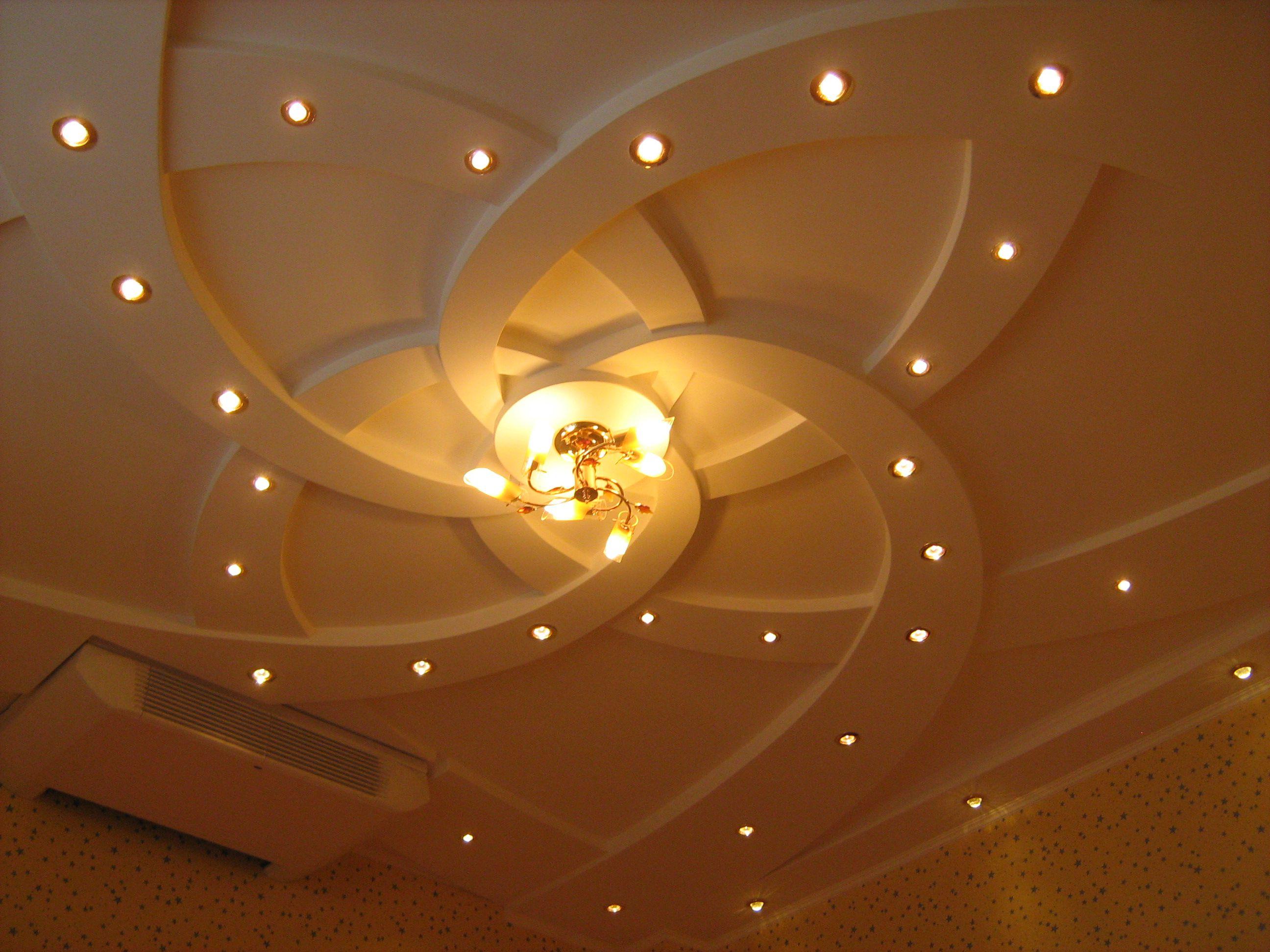 гипсокартонный потолок цена под ключ