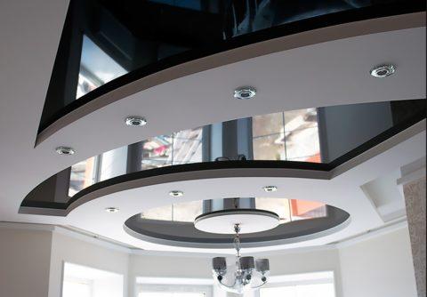Правильный подход к дизайну потолка, залог гармонизации всего интерьера