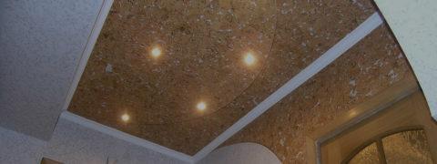 Пробка на потолке