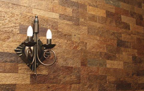 Пробка в дизайне – этот материал одинаково хорош и для стен и потолка