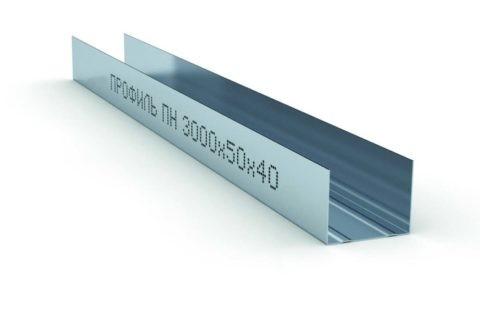 Профиль ПН-2 50х40