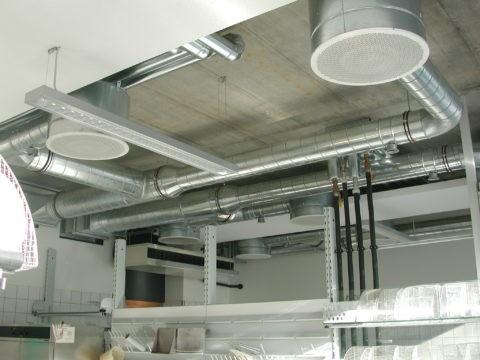 Производственные потолочные решетки
