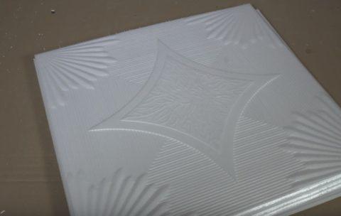 Распакованная плитка