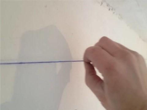 Разметка потолка под обои