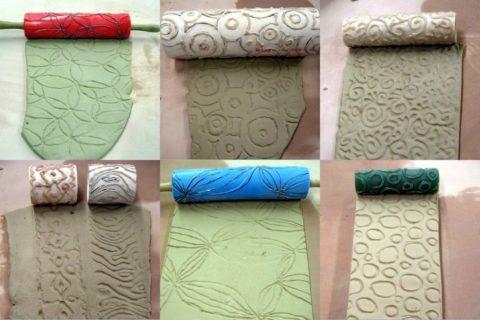 Рельефные валики для декоративной штукатурки