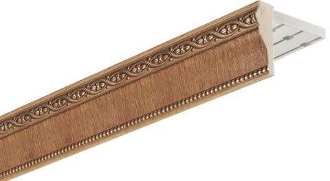 Рельсовый, с декоративной накладкой из МДФ