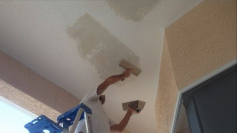Ремонт кухонного потолка