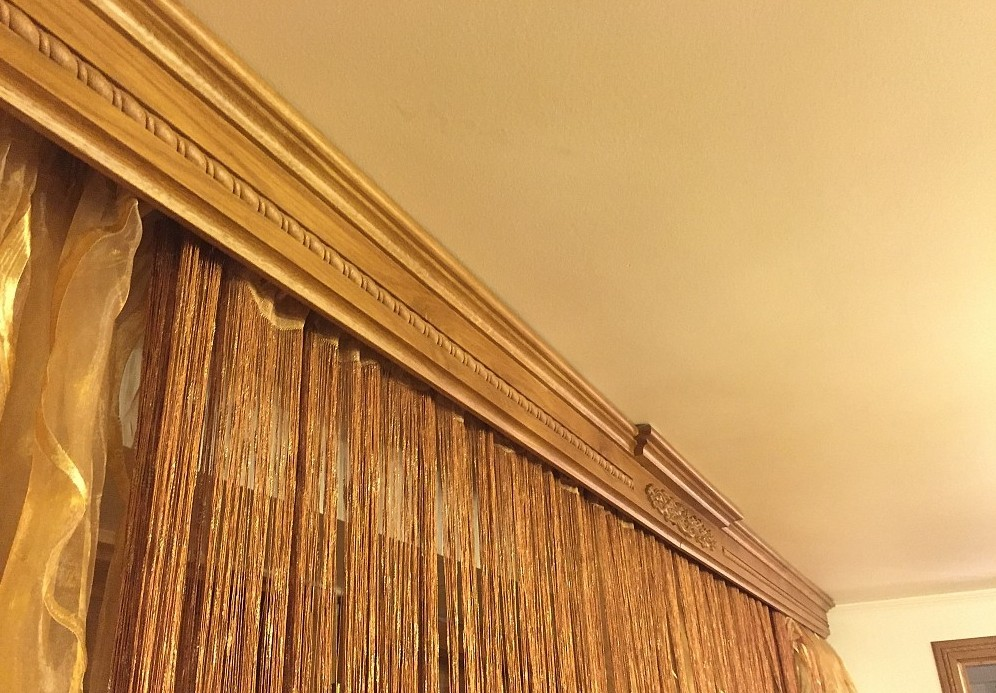 как установить деревянные потолочные карнизы инструкция