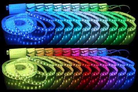 RGB-ленты способны создавать любой оттенок