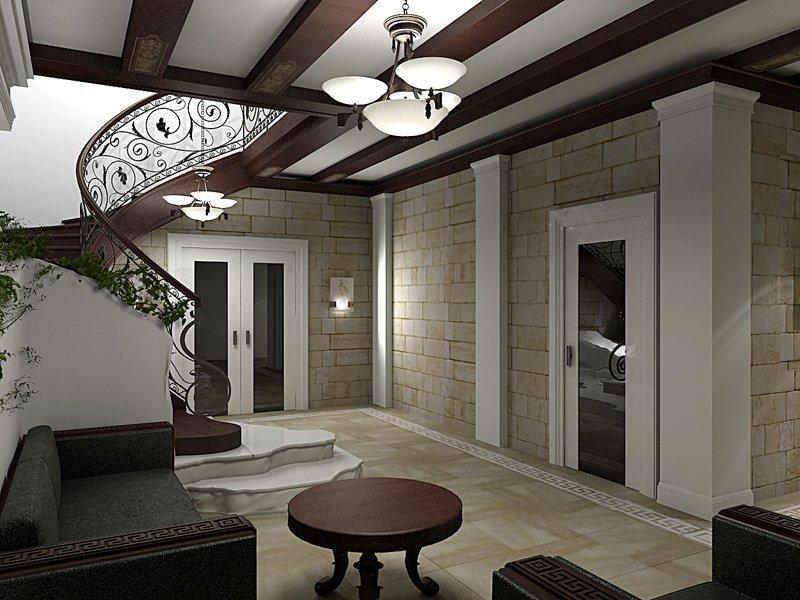 Дизайн ригелей в доме фото