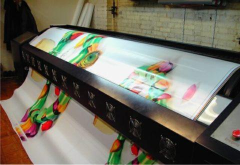 Самоклеющаяся пленка с печатью