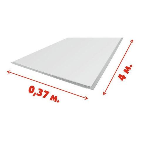 Ширина сотовой панели может достигать 370 мм