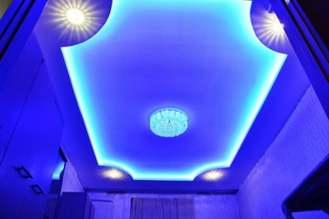 Скрытая подсветка на светодиодных лентах
