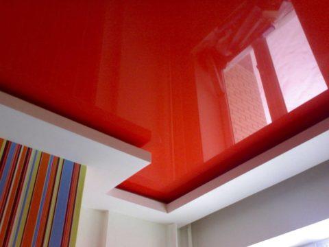 Сочные насыщенные цвета можно использовать не только на стенах