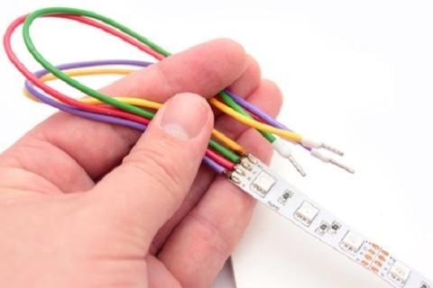 Соединительные провода для светодиодной ленты