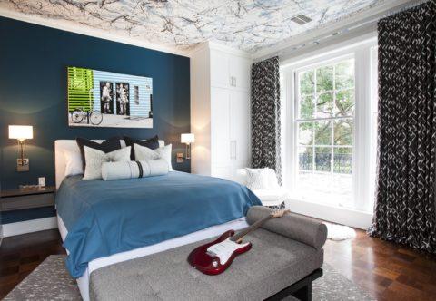 Спальня подростка в современном стиле