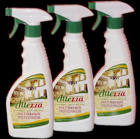 Специальное средство для мытья натяжных потолков