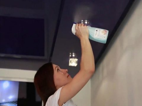 Средства для мытья стекол в дело