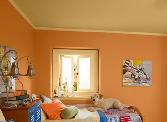 Оранжево-жёлтая расцветка поднимет настроение
