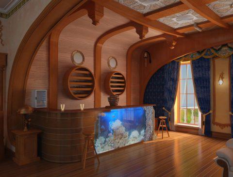 Стильная и красивая баня обязана комфортной