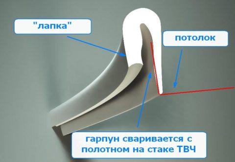 Строение гарпуна