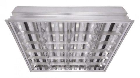 Светильник растровый для кассетных потолков