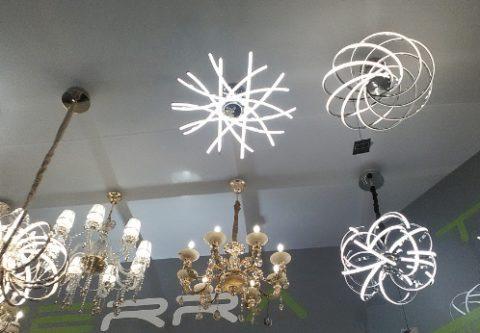 Светильники могут иметь самые причудливые формы