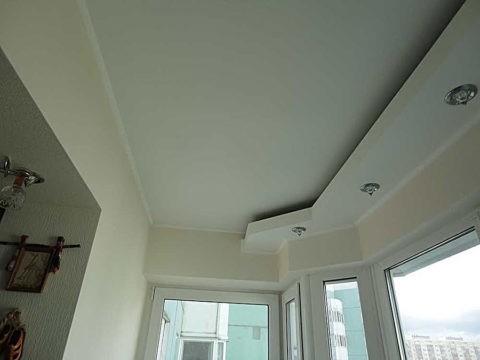 Светильники уличные встраиваемые потолочные на балконе