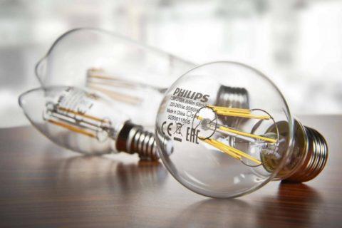 Светодиодная лампа Filament в классическом корпусе