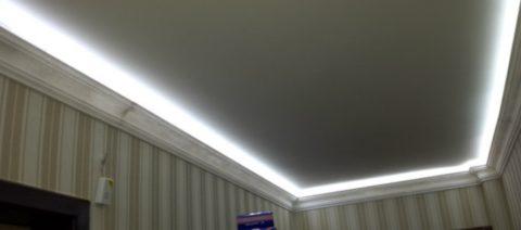 Светодиодная подсветка — отличное решение для низких помещений