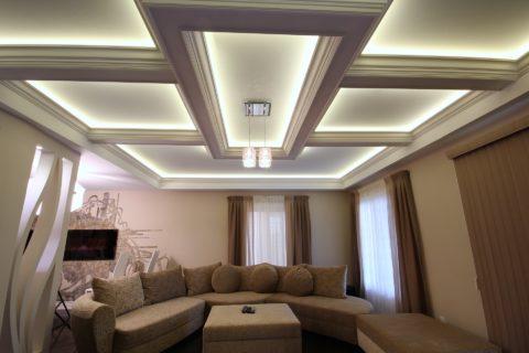 Светодиодная подсветка для современного интерьера